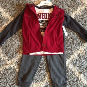 NWT Boy's 3 Piece Sweatsuit